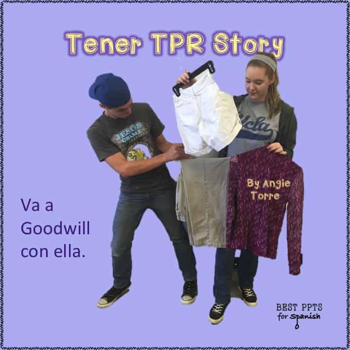Spanish Tener TPR Story
