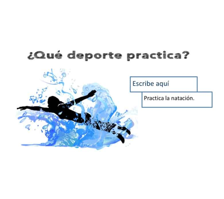 Spanish Sports Google Drive Activities
