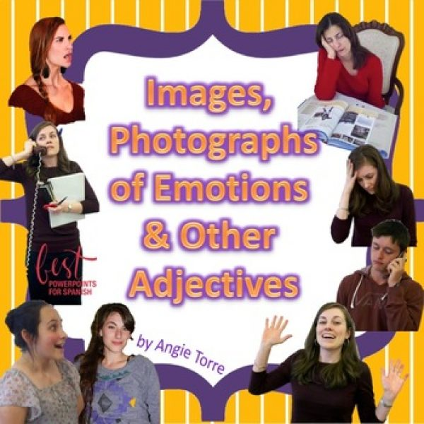 Images, Photographs, Clip-Art of Feelings and Adjectives