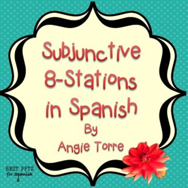 Subjunctive Eight Stations in Spanish