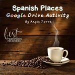 Spanish Places Los lugares Google Drive Activity