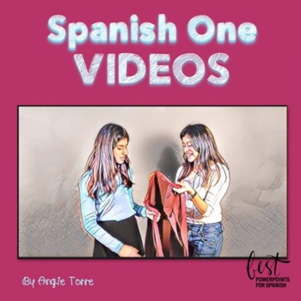 Spanish One Videos for Comprehensible Input