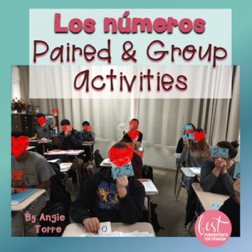 Spanish Numbers Los números Listening and Speaking Paired and Group Activities