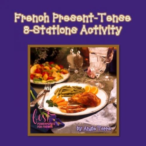 Present tense, 8 Station Activity in French