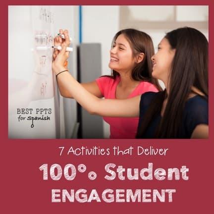 Seven Activities that Deliver 100% Student Engagement: Spanish Google Drive Activities