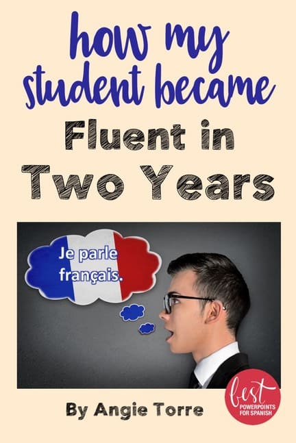 How My Student Became Fluent in Two Years