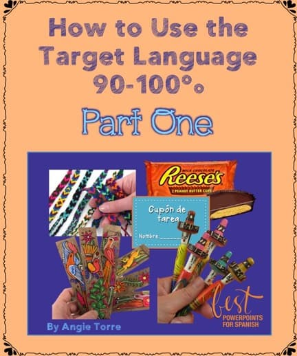 How to Use the Target Language 90-100%