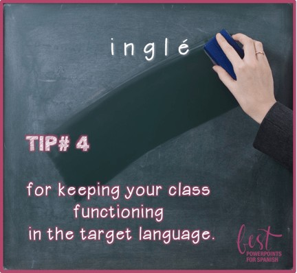 How to Stay in the Target Language