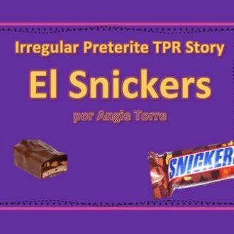 Spanish Irregular Preterite TPR Story