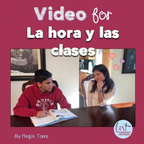 Video for La hora y las clases