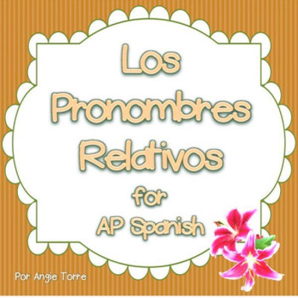 Los pronombres relativos PowerPoint