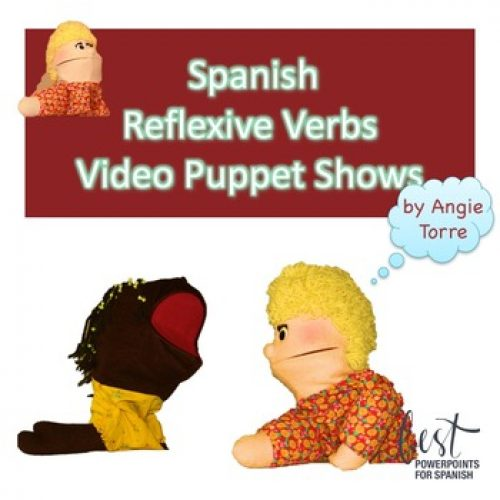 Spanish Reflexive Verbs Video Puppet Shows