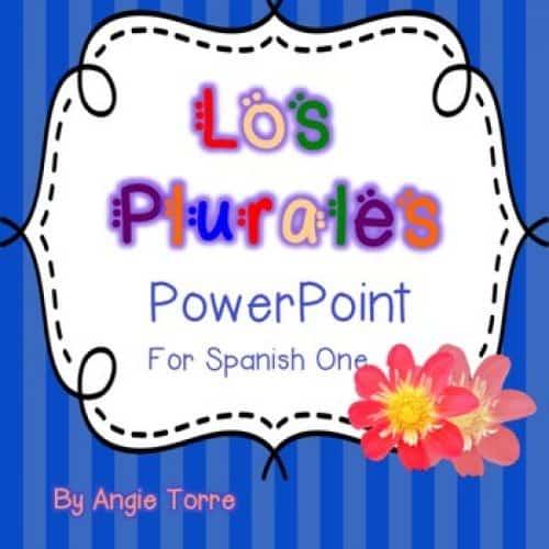 Spanish Plurals PowerPoint