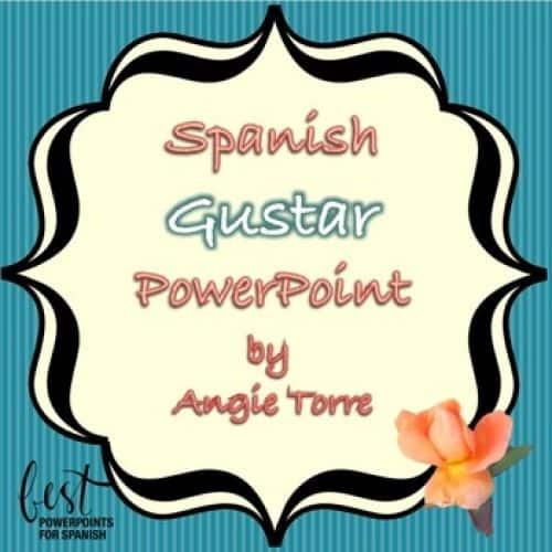 Spanish Gustar PowerPoint