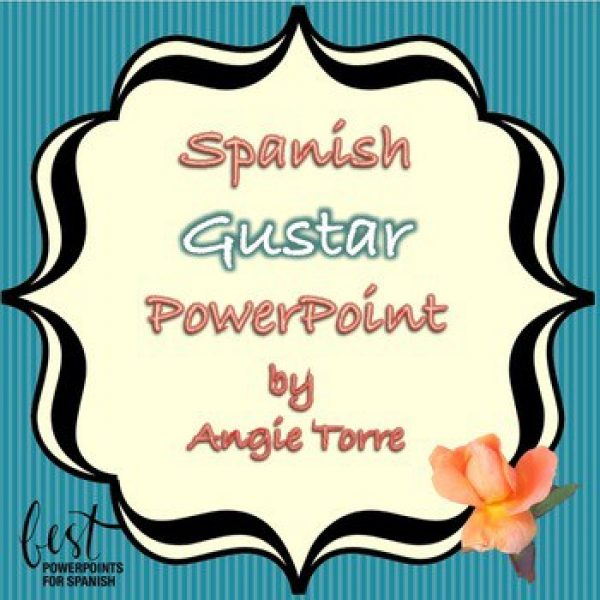 Spanish Gustar PowerPoint