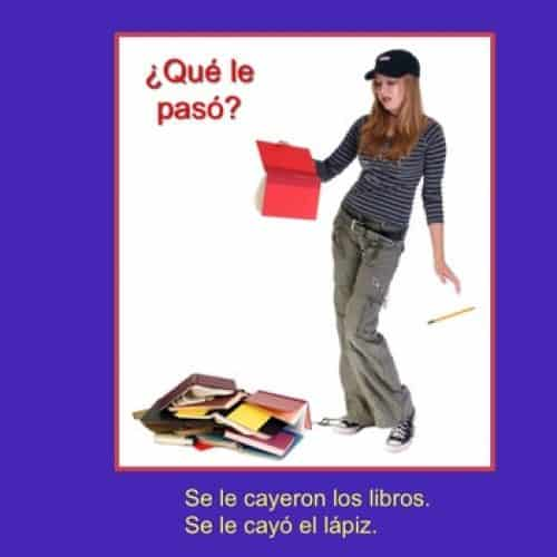 Spanish Se impersonal and Se no intencional No-Prep Lesson Plans and Curriculum