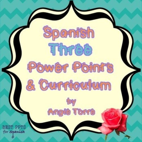 Spanish Three PowerPoints