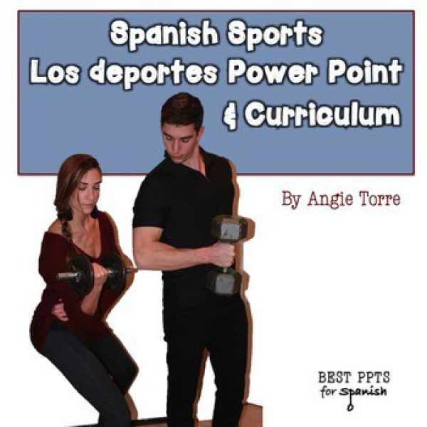Spanish Sports PowerPoint