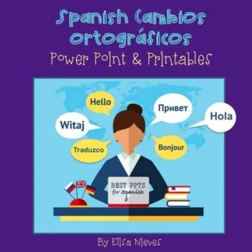Spanish Cambios ortográficos del tiempo presente