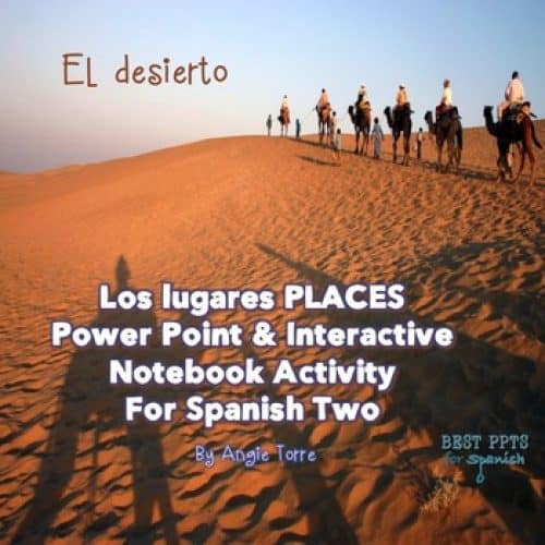 Spanish Places Los lugares PowerPoint