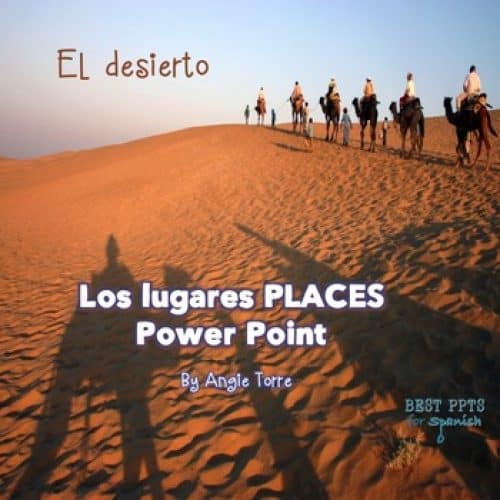 Free Spanish Places PowerPoint