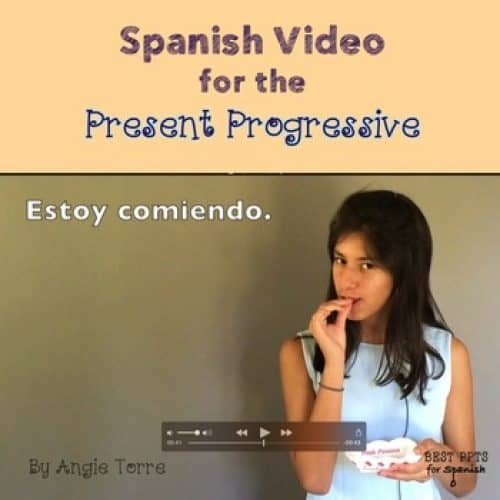 Spanish Present Progressive Video