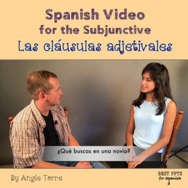 Spanish Subjunctive, las cláusulas adjetivales Video