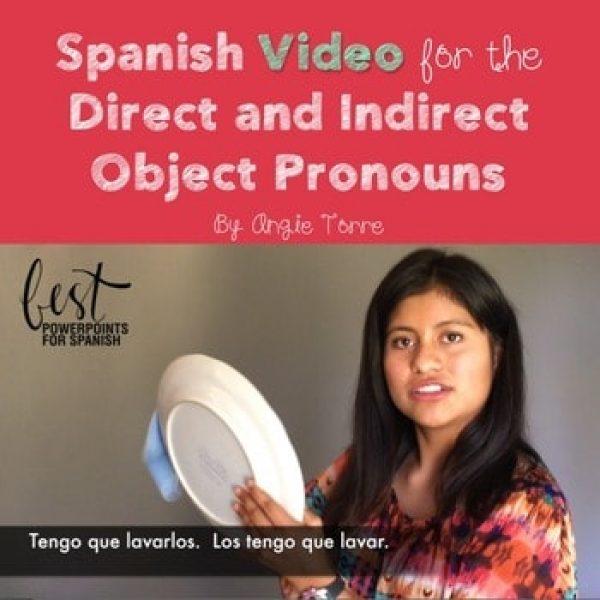 Spanish Object Pronouns Video