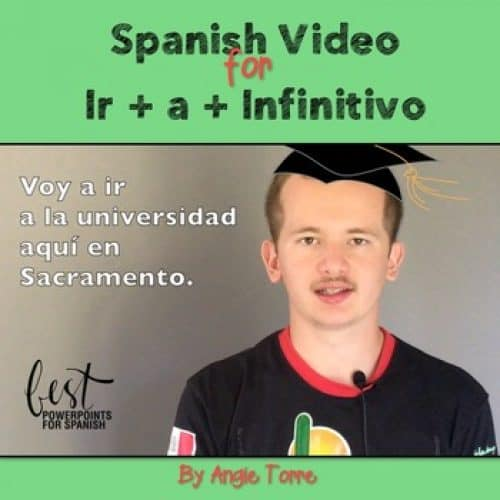 Spanish Ir + a + Infinitivo Video