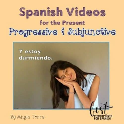 Spanish Present Progressive and Subjunctive Videos