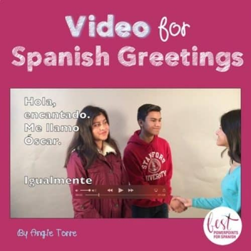 Spanish Greetings Video- Los saludos y las despedidas