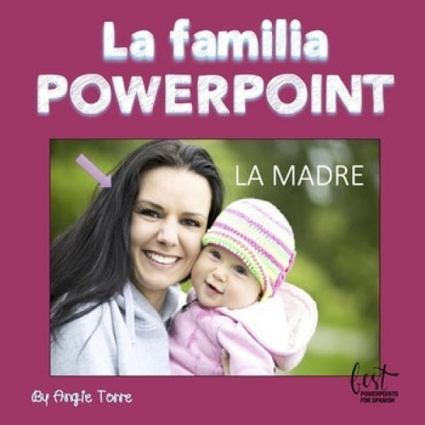 Spanish Family La familia PowerPoint and Interactive Notebook Activities