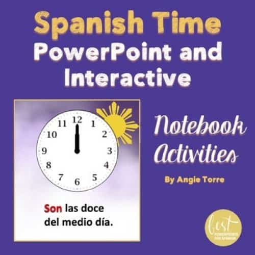 Spanish Time PowerPoint