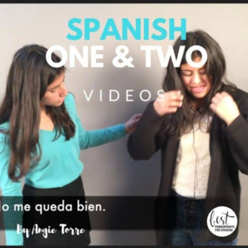 Spanish One and Two Videos
