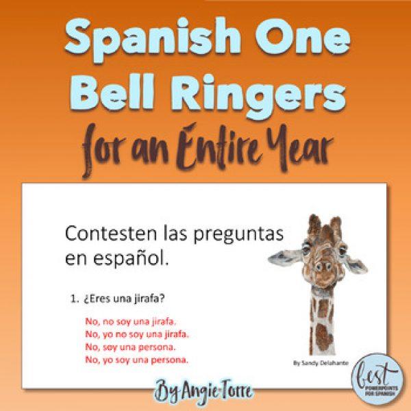 Spanish One Bell Ringers