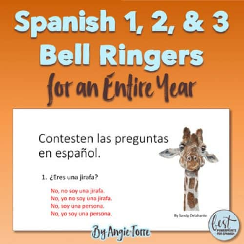 Spanish Bell Ringers for Spanish One, Two, and Three