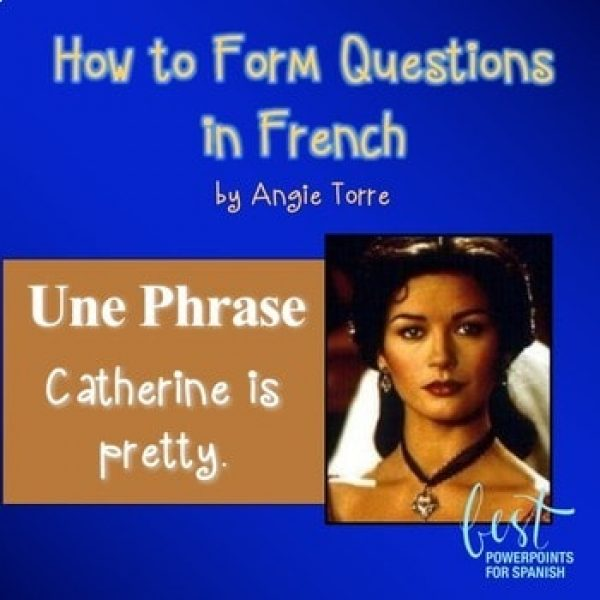 French PowerPoint on How to Form Questions