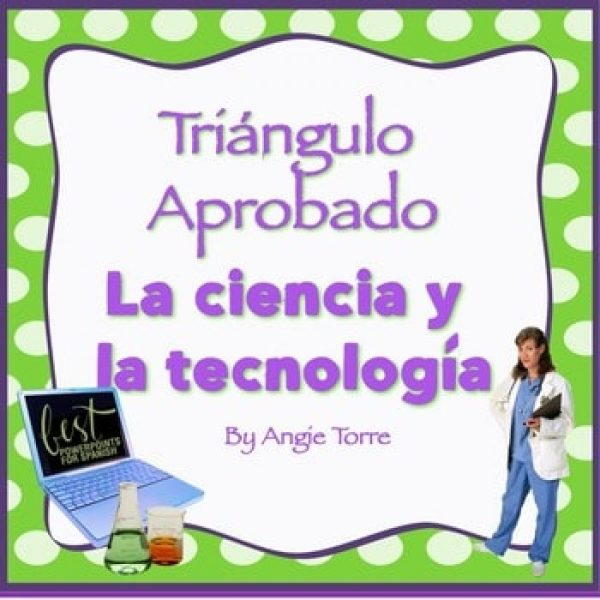 Vocabulary for Triángulo aprobado for AP Spanish: la ciencia y la tecnología