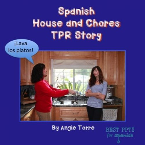 Spanish House and Chores TPR