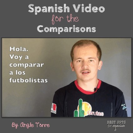 Using Videos for Comprehensible Input: Spanish Video for the Comparisons