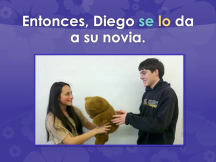 Spanish Double-Object Pronouns TPR Story