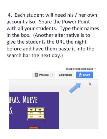 Google Drive Interactive Notebook Activities