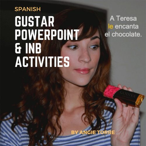 Spanish Gustar PowerPoint and Activities