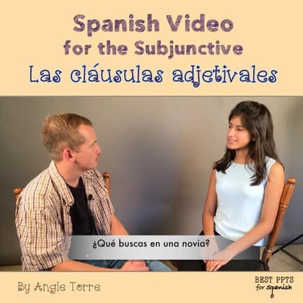 Why you should use targeted comprehensible input: Spanish video for the subjunctive