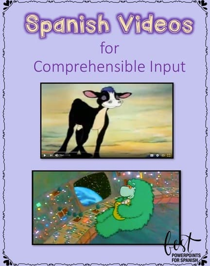 Using Videos for Comprehensible Input