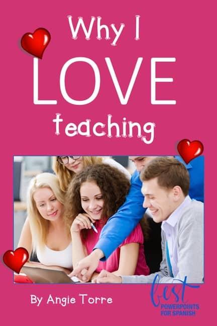 Why I love Teaching