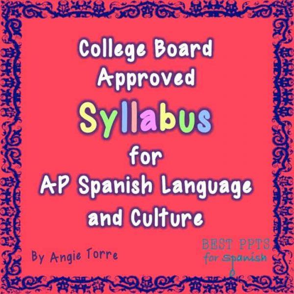 AP Spanish Language and Culture Syllabus