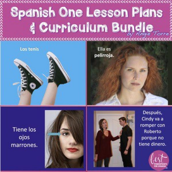 Spanish One Lesson Plans- First Month