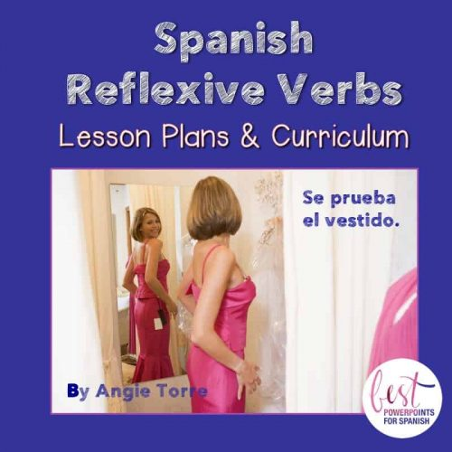 Spanish Reflexive Verbs No-prep Lesson Plans