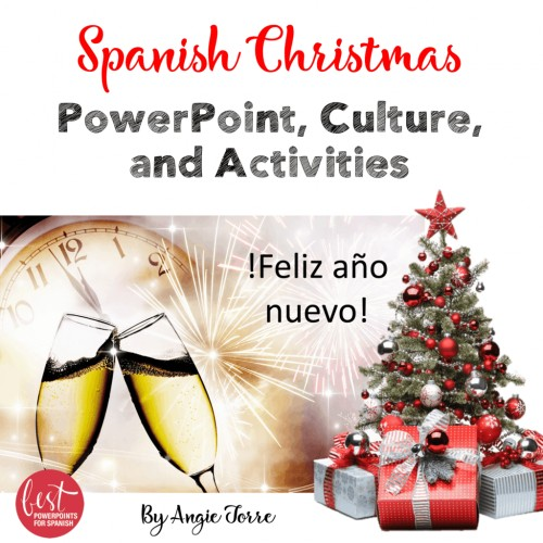Spanish Christmas La Navidad PowerPoint, Culture, and Activities Bundle